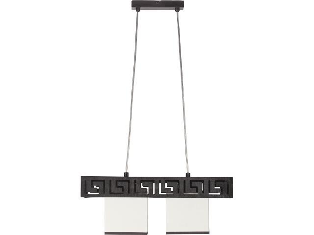 Lampa wisząca Olimp wenge 2xE27 10103 Sigma