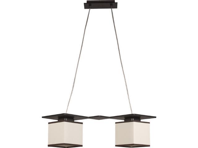 Lampa wisząca Astra Trend wenge 2xE14 10402 Sigma