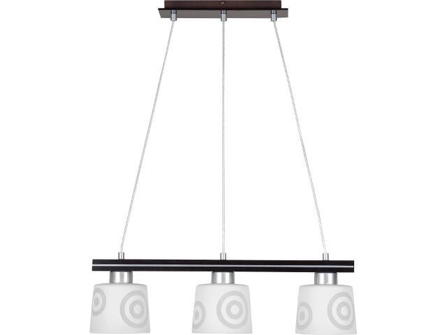 Lampa wisząca Diego wenge 3xE27 10801 Sigma