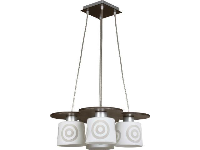 Lampa wisząca Duet wenge 4xE27 10901 Sigma