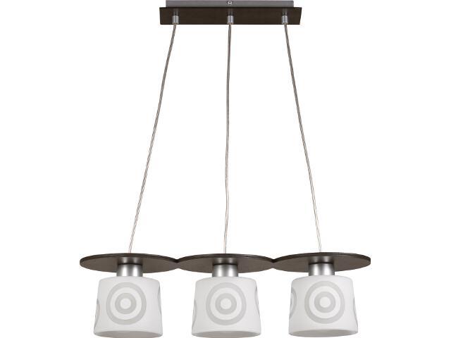 Lampa wisząca Duet wenge 3xE27 10902 Sigma