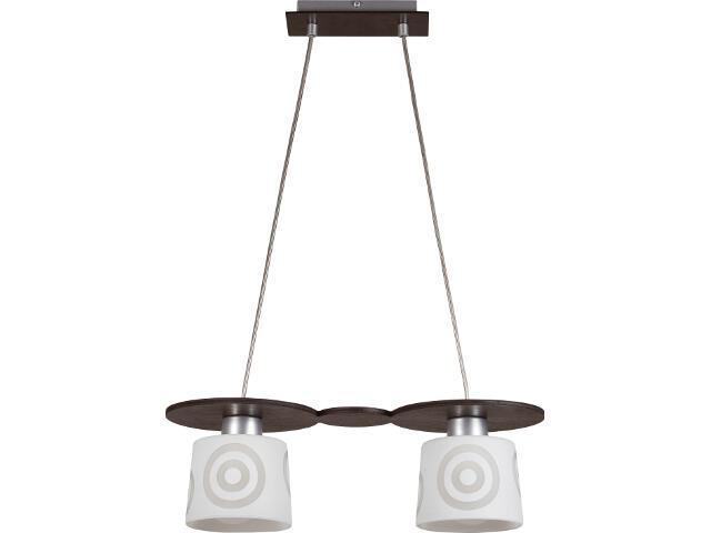 Lampa wisząca Duet wenge 2xE27 10903 Sigma