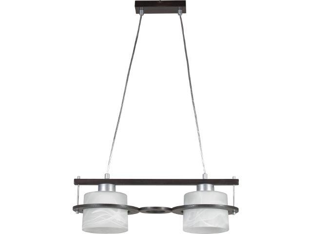 Lampa wisząca Korso wenge 2xE27 11003 Sigma