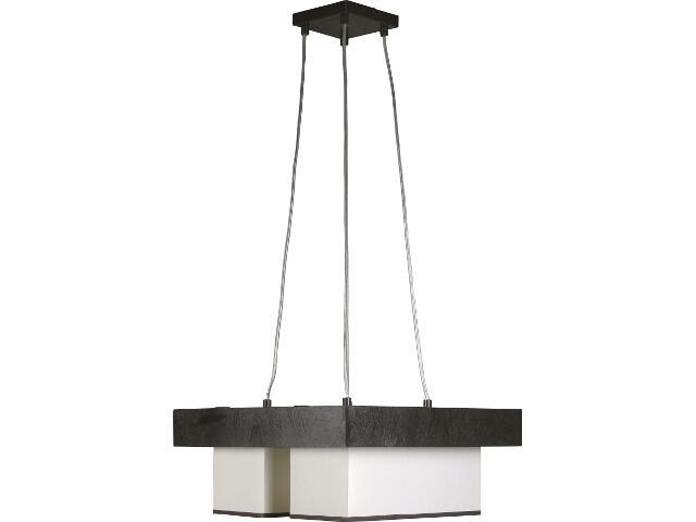 Lampa wisząca Sofa wenge 4xE27 11901 Sigma