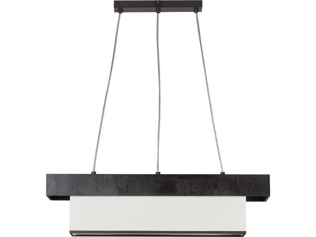 Lampa wisząca Sofa wenge 3xE27 11902 Sigma