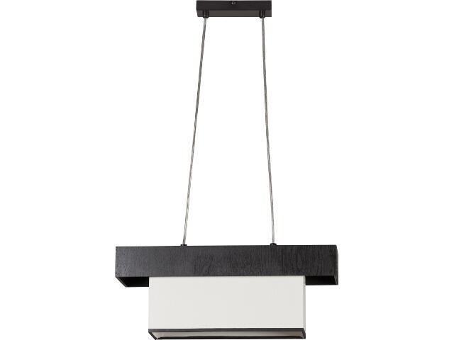Lampa wisząca Sofa wenge 2xE27 11903 Sigma