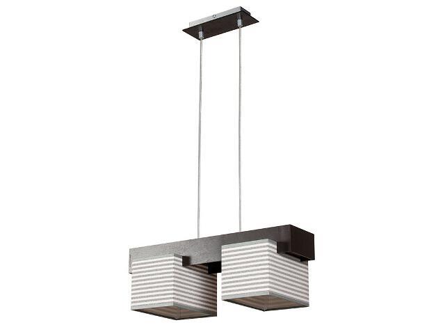 Lampa wisząca Fama paski 2xE27 12706 Sigma