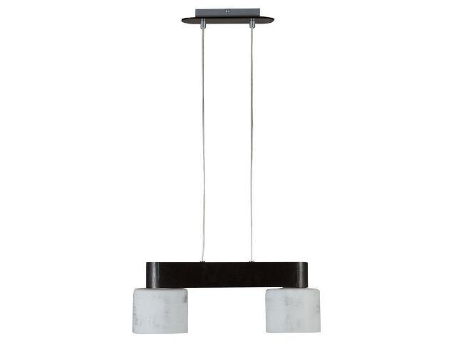 Lampa wisząca Nelawenge srebrna 2xE27 12906 Sigma