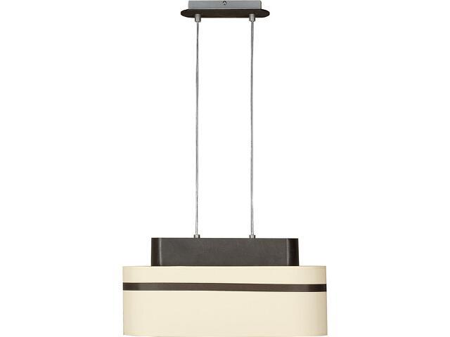 Lampa wisząca Largo kremowa 2xE27 12214 Sigma