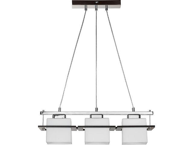 Lampa wisząca Delta chrom 3xE27 14902 Sigma