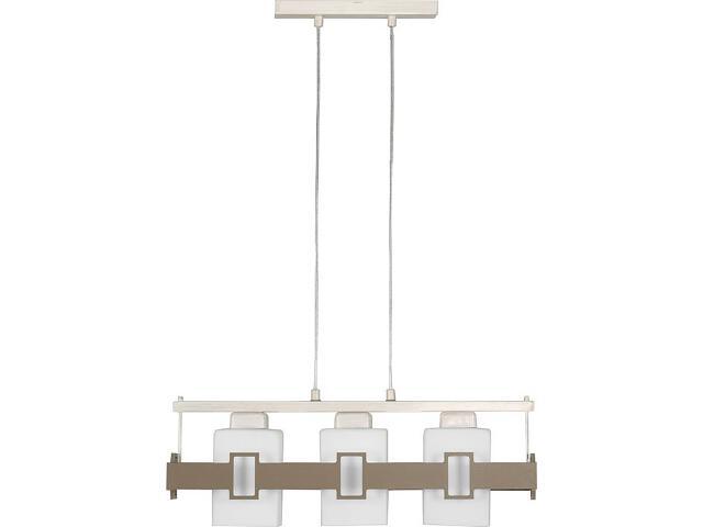 Lampa wisząca Karo beżowa 3xE27 14601 Sigma