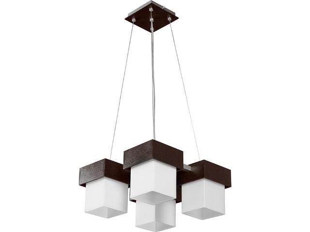 Lampa wisząca Lotos srebrna 4xE27 13401 Sigma