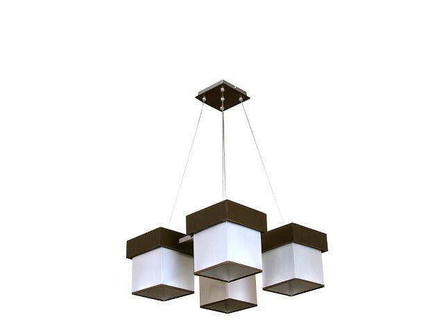 Lampa wisząca Silver 4xE27 13601 Sigma