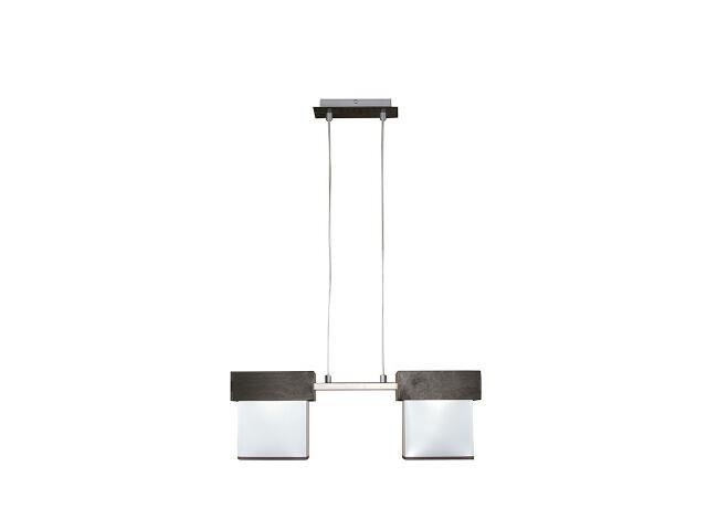 Lampa wisząca Silver 2xE27 13603 Sigma