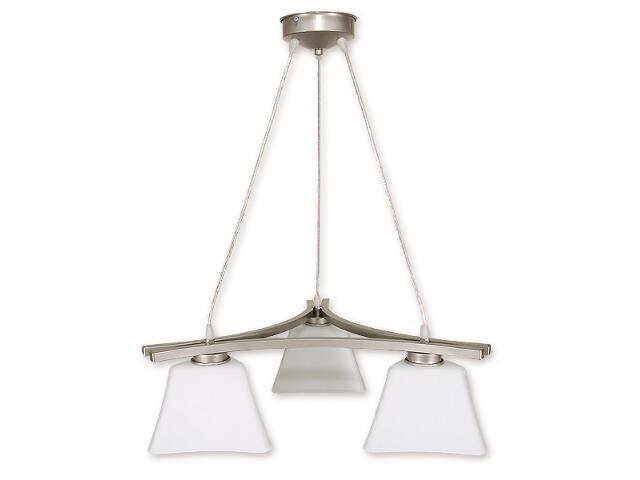 Lampa wisząca Magna listwa 3-płomienna satyna O1243/W3 SAT Lemir