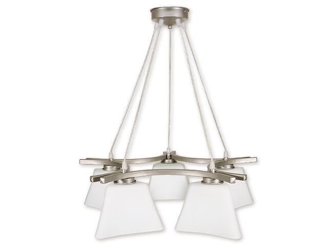 Lampa wisząca Magna listwa 5-płomienna satyna O1245/W5 SAT Lemir