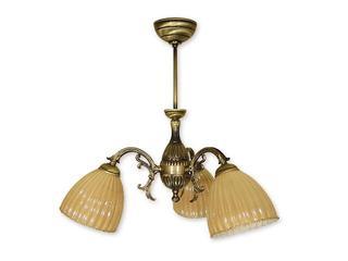 Lampa wisząca Gala 3-płomienna patyna O1293/W3 Lemir