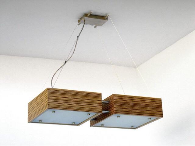 Lampa sufitowa CALYPSO DUE mała zebrano 1206W2M205 Cleoni