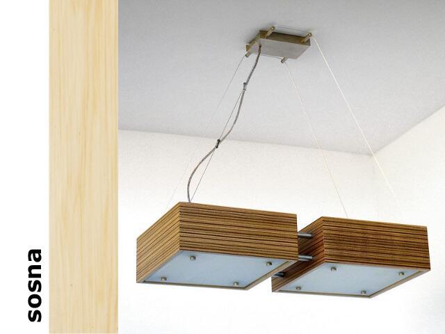 Lampa sufitowa CALYPSO DUE średnia sosna 1206W2S201 Cleoni