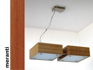 Lampa sufitowa CALYPSO DUE średnia meranti 1206W2S203 Cleoni