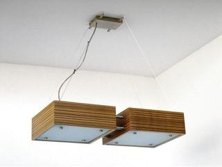 Lampa sufitowa CALYPSO DUE średnia zebrano 1206W2S205 Cleoni