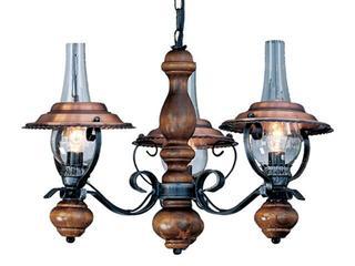 Lampa sufitowa Rustika 3xE14 40W 63140-3 Reality