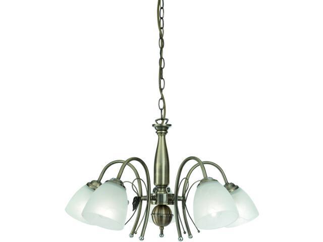 Lampa sufitowa Classic 5xE27 60W 997122-5 Reality