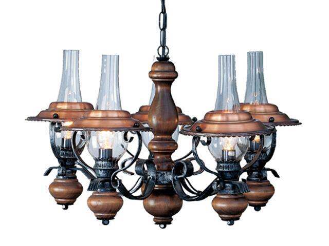 Lampa sufitowa Rustika 5xE14 40W 63140-5 Reality