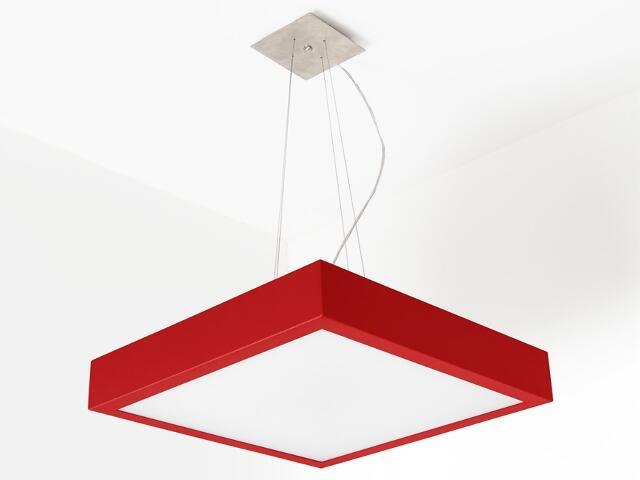 Lampa sufitowa NEKLA 40 czerwona połysk 1152W1110 Cleoni