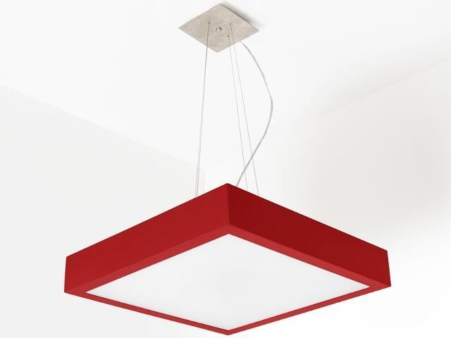 Lampa sufitowa NEKLA 50 czerwona matowa 1152W2111 Cleoni