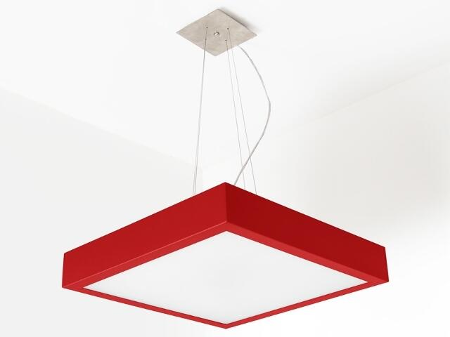 Lampa sufitowa NEKLA 50 czerwona połysk 1152W2110 Cleoni