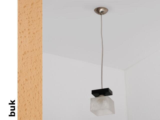 Lampa sufitowa ALHAMBRA BGB buk 1154BGB Cleoni