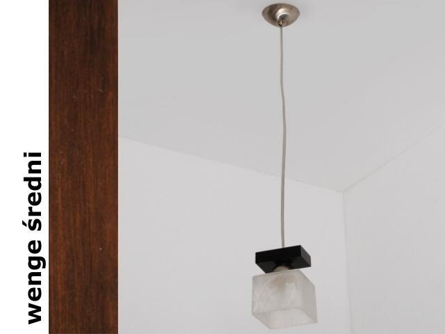 Lampa sufitowa ALHAMBRA BGVS wenge średnia 1154BGVS Cleoni