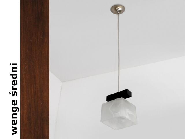 Lampa sufitowa ASTRA BEVS wenge średnia 1155BEVS Cleoni