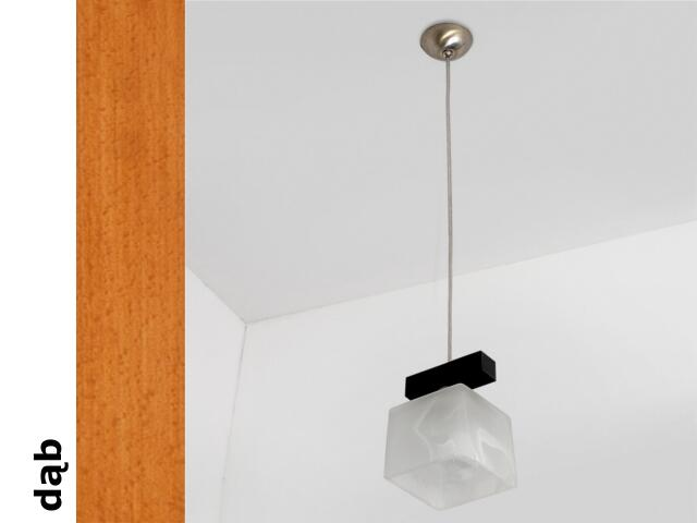 Lampa sufitowa ASTRA BGD dąb 1155BGD Cleoni