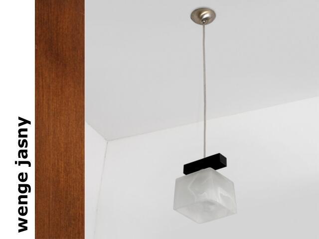 Lampa sufitowa ASTRA BGVJ wenge jasna 1155BGVJ Cleoni