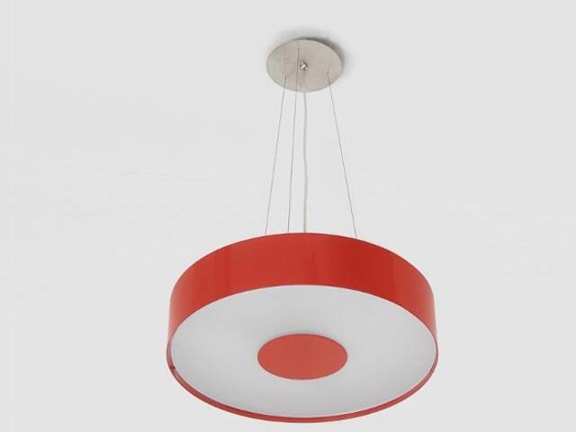 Lampa wisząca CARINA 40 czerwona matowa 1158W1111 Cleoni
