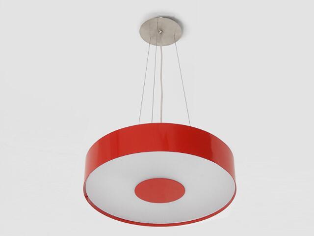 Lampa sufitowa CARINA 40 czerwona połysk 1158W1110 Cleoni