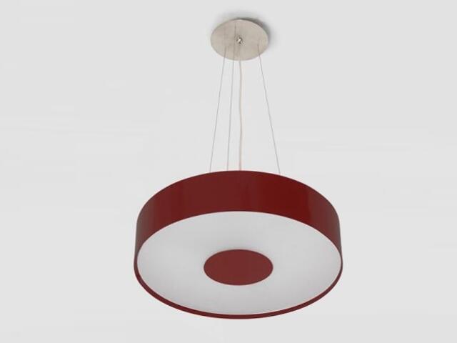 Lampa sufitowa CARINA 50 bordowa 1158W2104 Cleoni