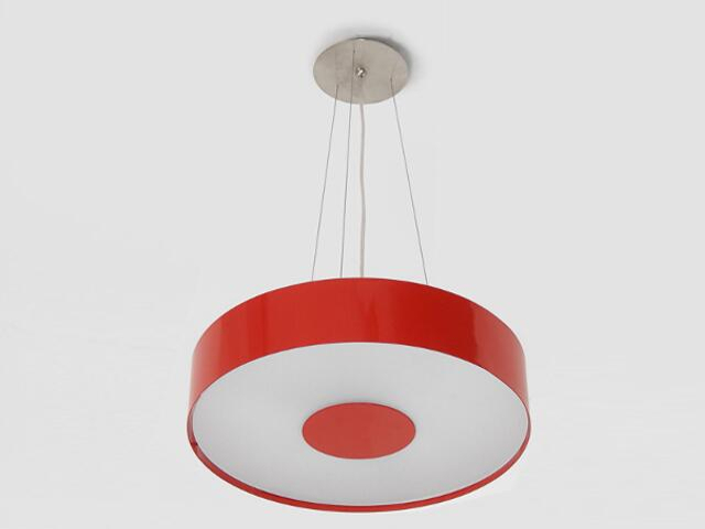 Lampa sufitowa CARINA 50 czerwona połysk 1158W2110 Cleoni