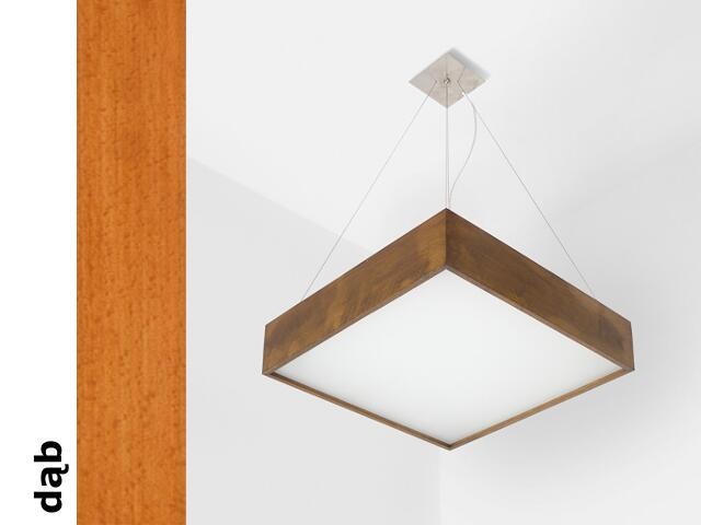 Lampa sufitowa ALMA 50 W2D dąb 1159W51305 Cleoni
