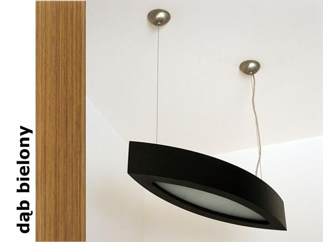 Lampa sufitowa NOLA 90 duża dąb bielony 3500W2P208 Cleoni