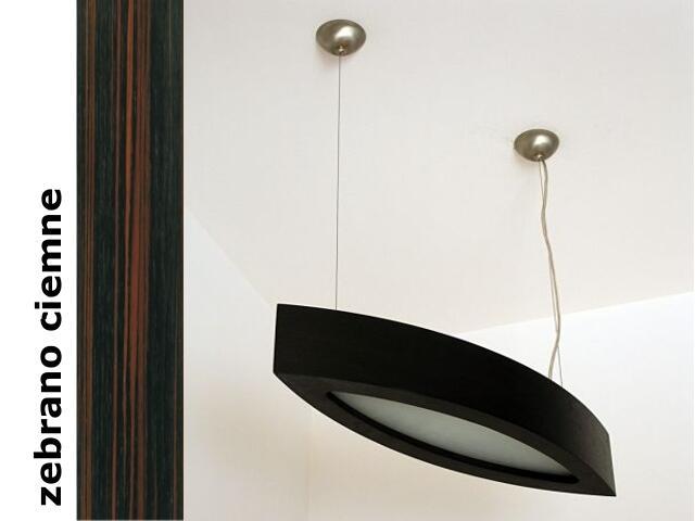 Lampa sufitowa NOLA 90 duża zebrano ciemne 3500W2P206 Cleoni