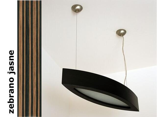 Lampa sufitowa NOLA 90 duża zebrano jasne 3500W2P207 Cleoni
