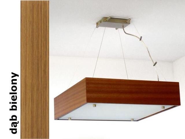 Lampa sufitowa CALYPSO duża dąb bielony 1206W1D208 Cleoni