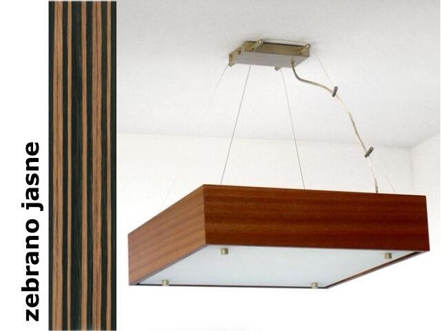 Lampa sufitowa CALYPSO duża zebrano jasne 1206W1D207 Cleoni