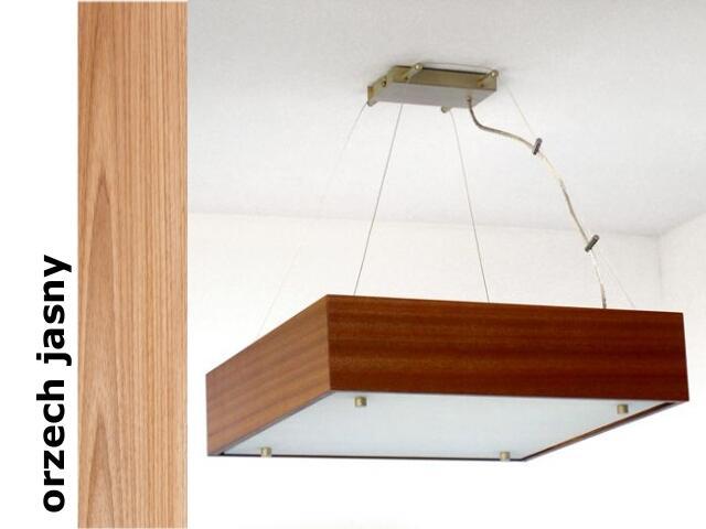 Lampa sufitowa CALYPSO średnia orzech jasny 1206W1S210 Cleoni