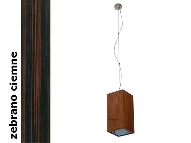 Lampa sufitowa TUBA średnia zebrano ciemne 1203W1S206 Cleoni