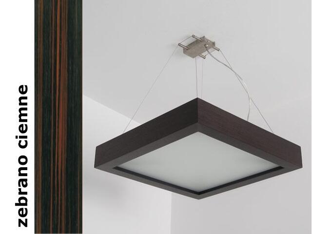 Lampa sufitowa MOA 50 zebrano ciemne 8647H206 Cleoni