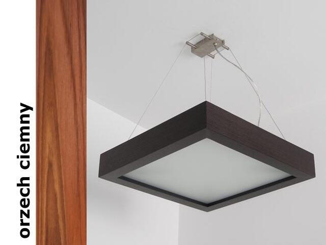 Lampa sufitowa MOA 40 orzech ciemny 8649K209 Cleoni